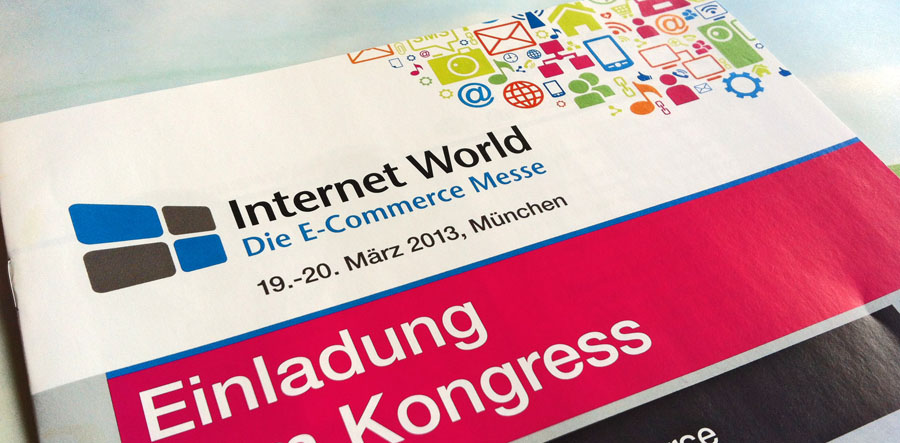 Internet World die E-Commerce Messe in München 2013