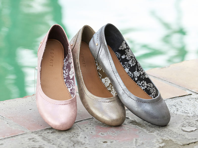 ballerina-metallic-look