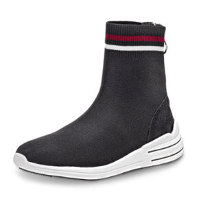 Tom Tailor Sockboot in Schwarz.