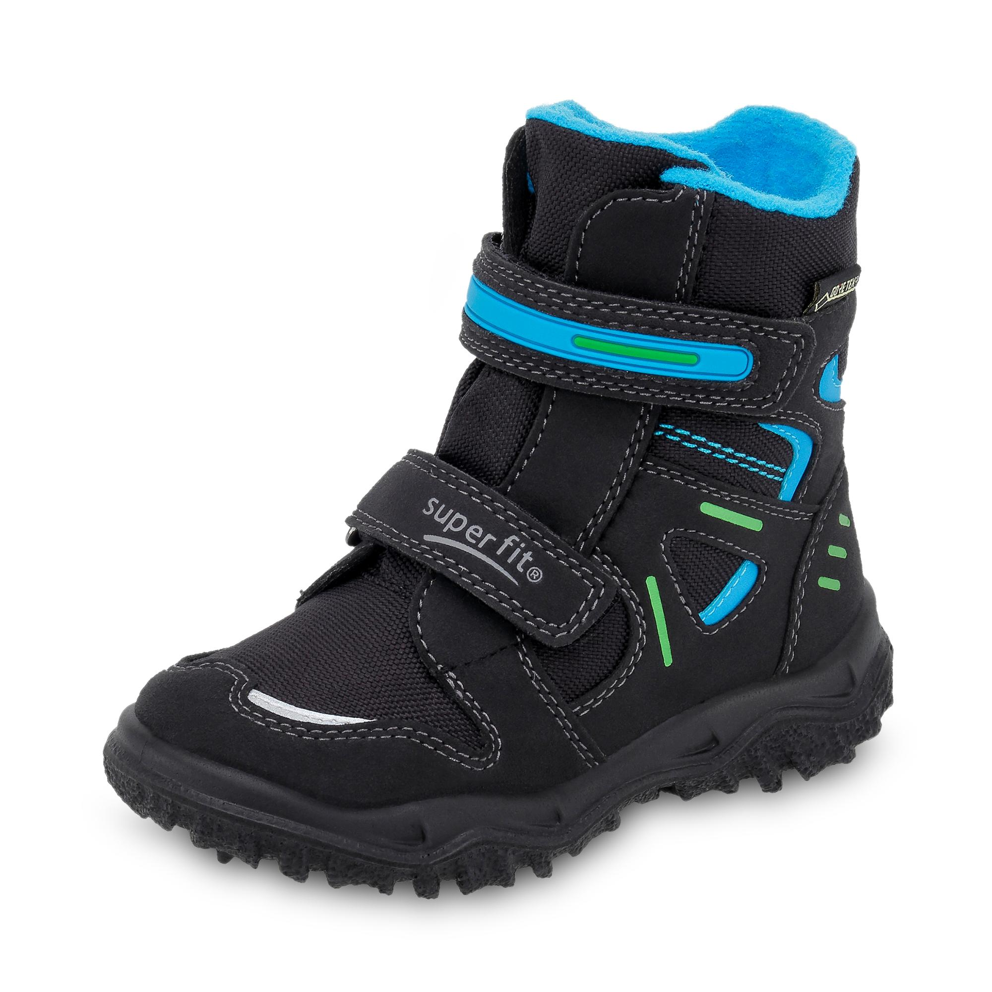superfit gore tex husky kinder jungen winterstiefel boots lederimitat schuhe ebay. Black Bedroom Furniture Sets. Home Design Ideas