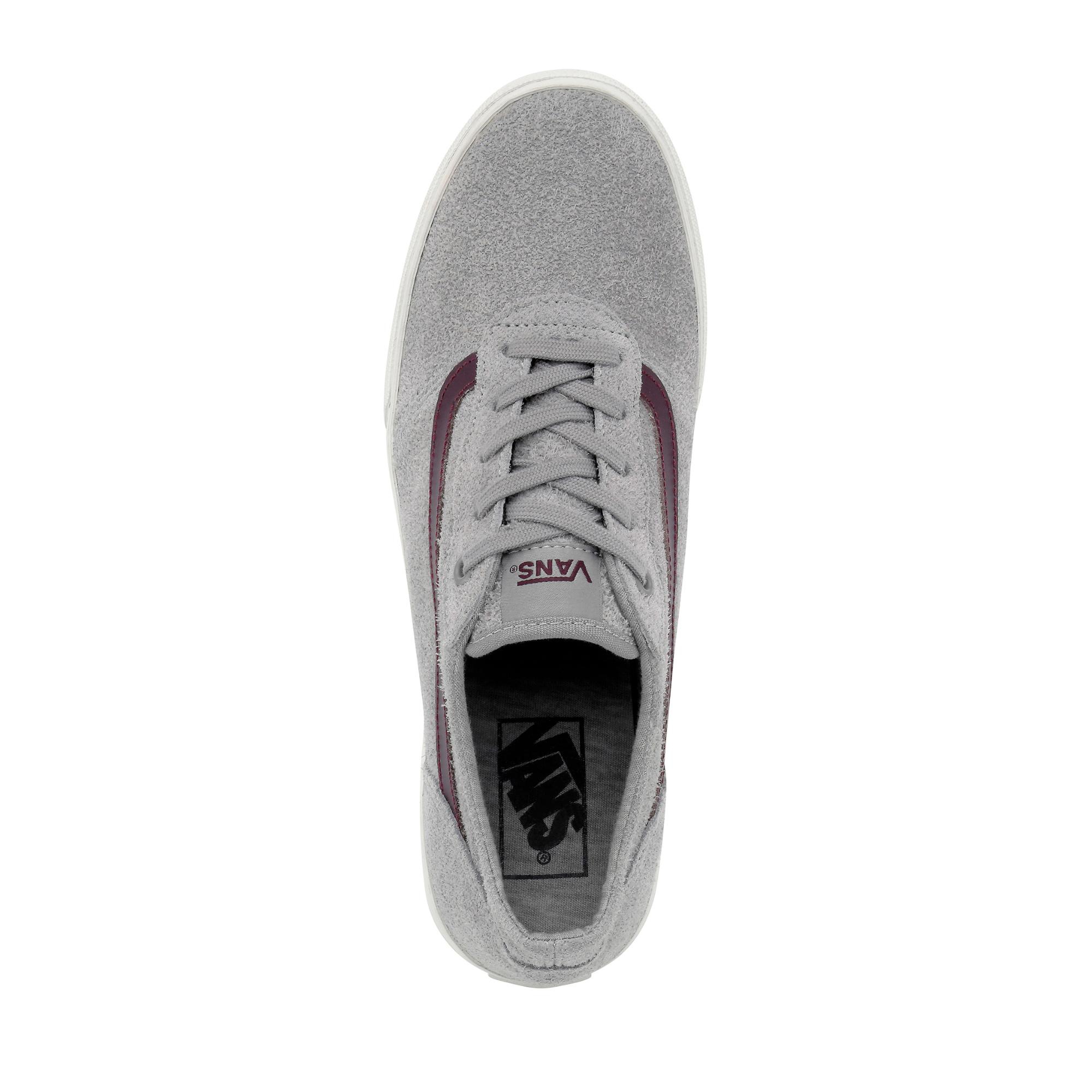 vans maddle grau