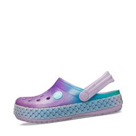 Crocs Butterfly Band Lights Clog in Farbe rosabunt um 31