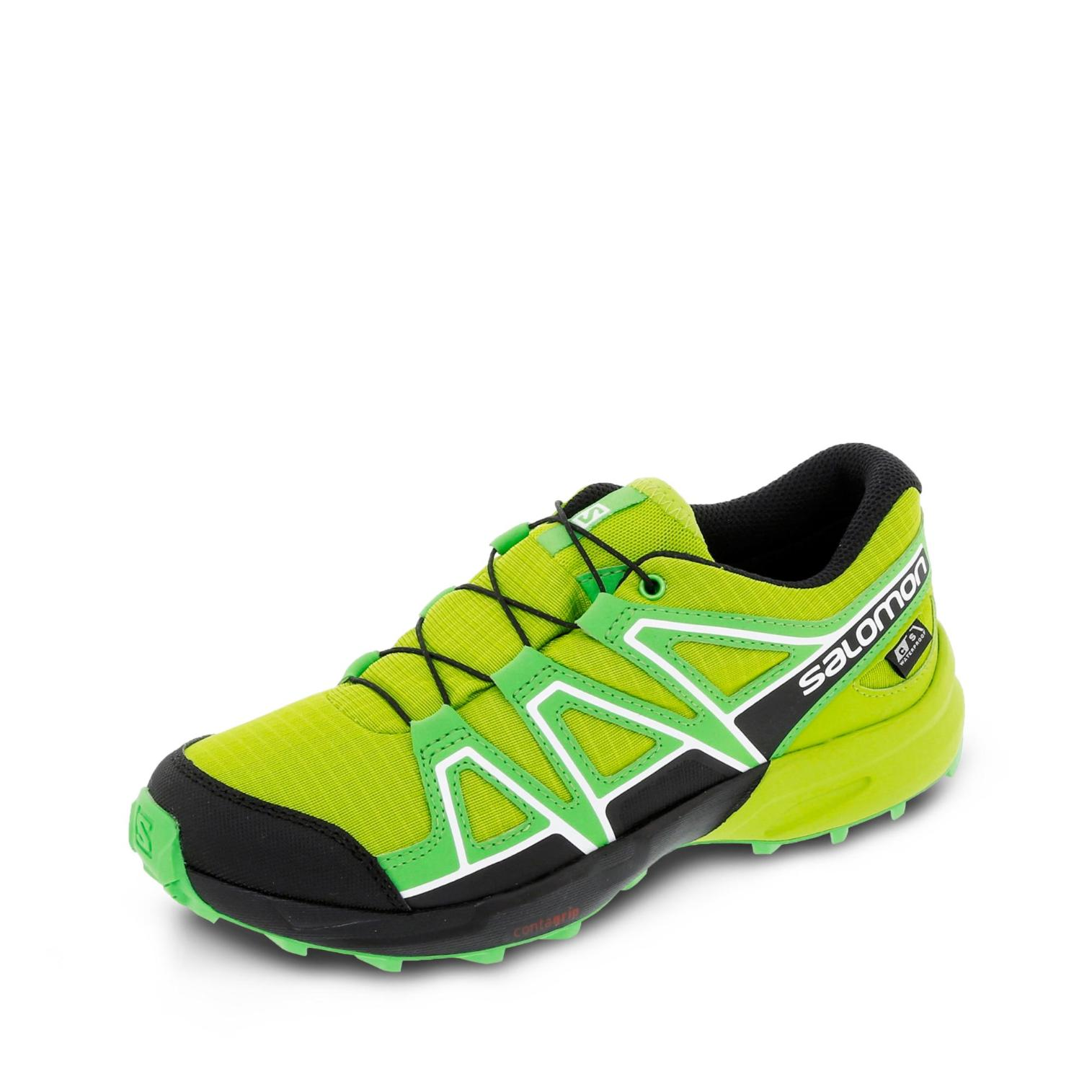 Salomon Speedcross CSWP Outdoorschuh - neongrün/schwarz