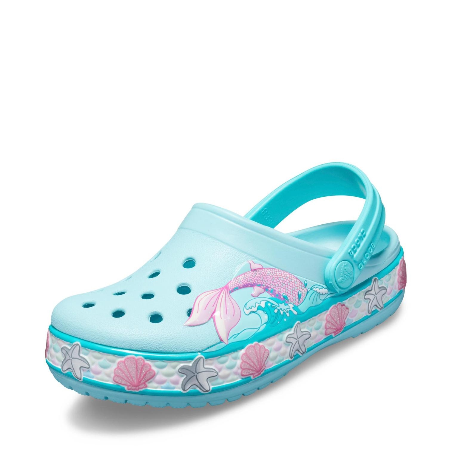 Crocs Mermaid Band Clog in Farbe türkisrosa günstig online