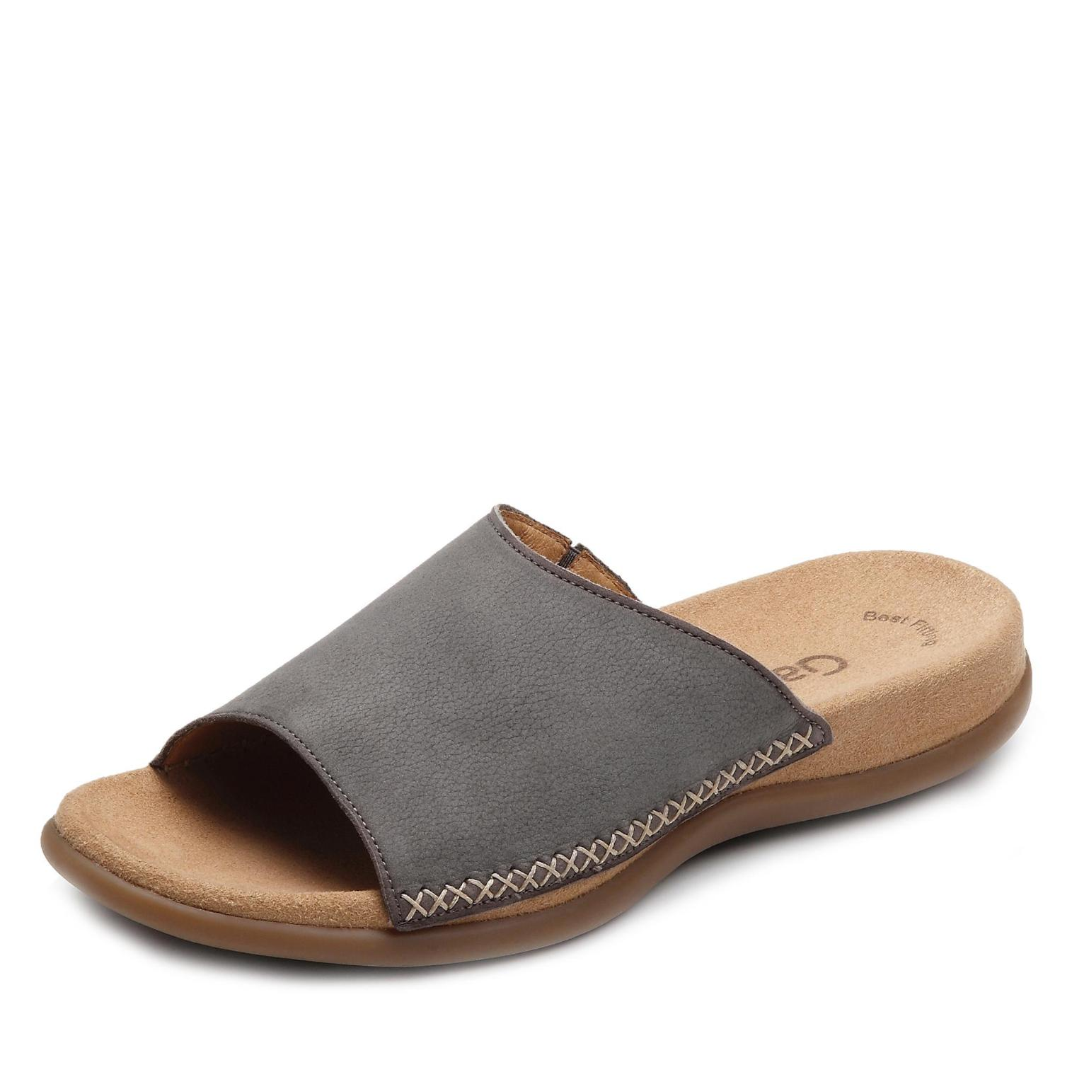 latest discount new products to buy Gabor Pantolette in Farbe taupe um 31% reduziert online kaufen