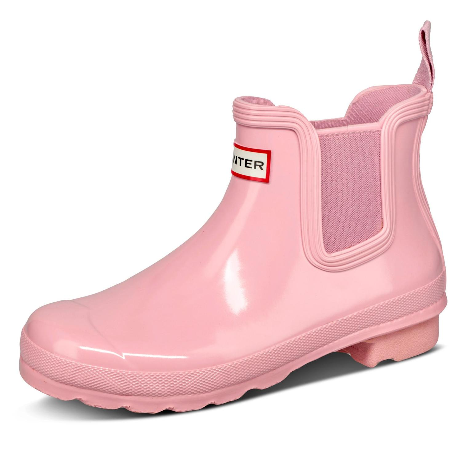 hunter -  Stiefelette - Damen - rosa