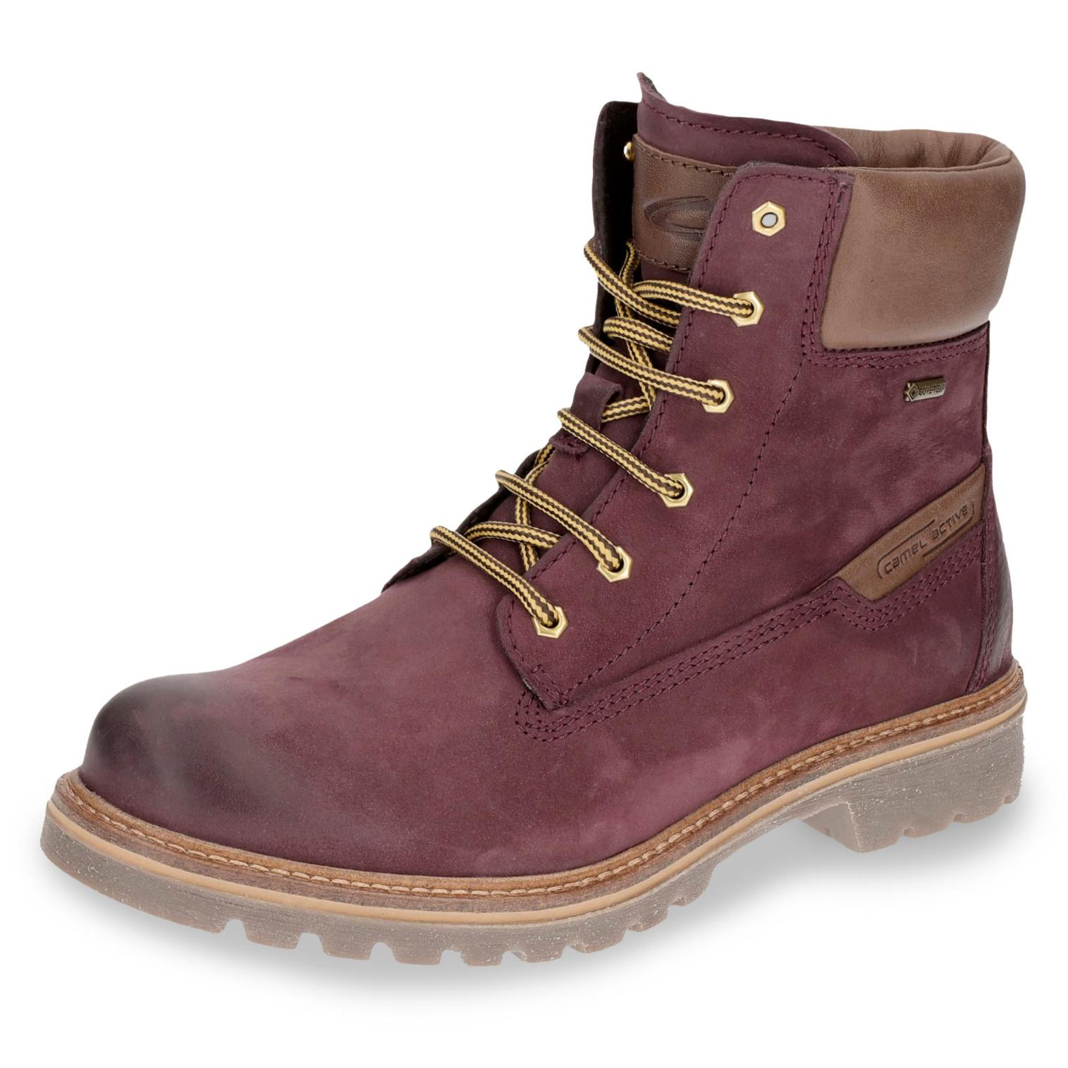 Camel Active Canberra GORE-TEX-Boots in Farbe bordeaux um 20% reduziert online kaufen