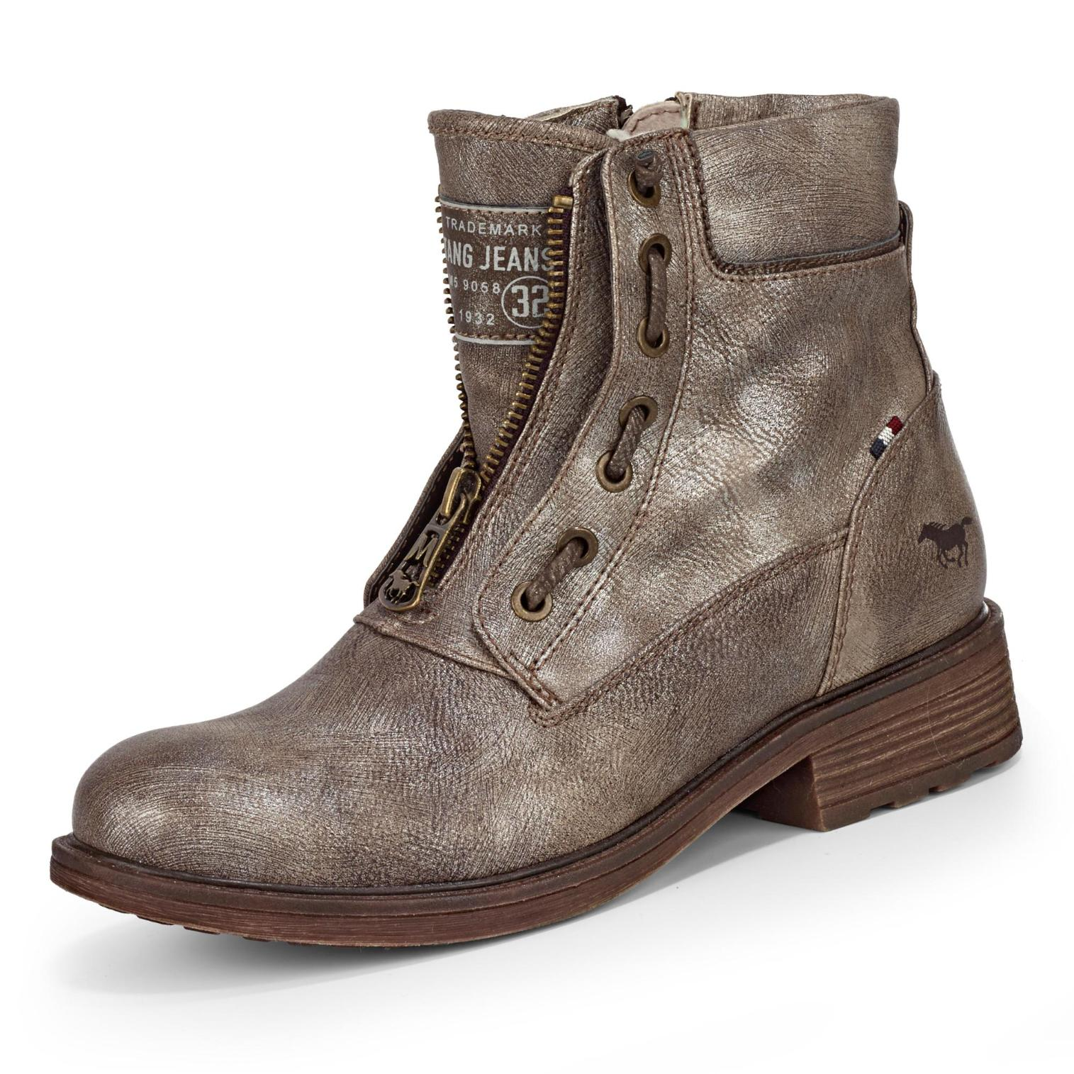 Mustang Boots in Farbe taupe um 39% reduziert online kaufen