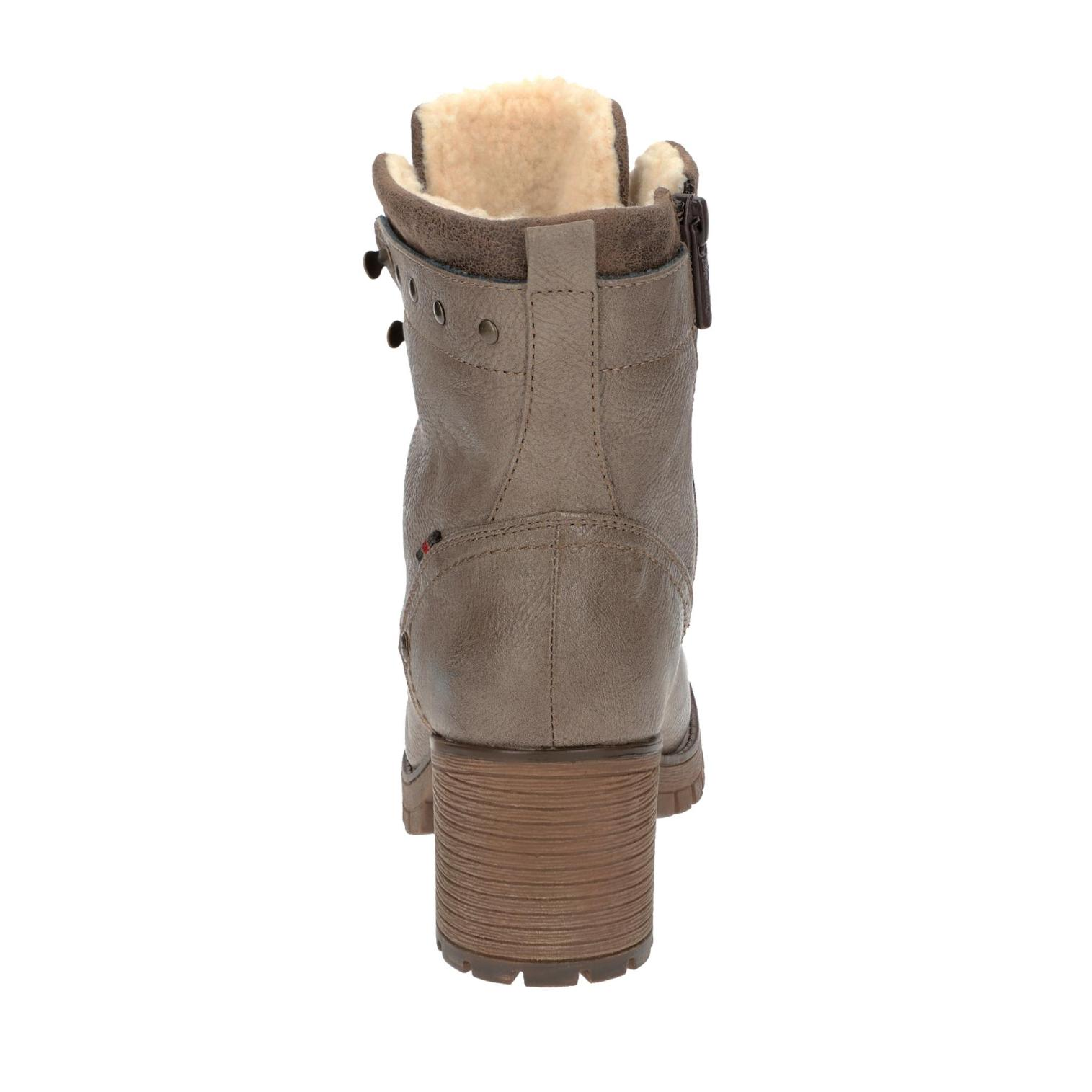 Mustang Boots in Farbe taupe taupe taupe günstig online kaufen 0bab17