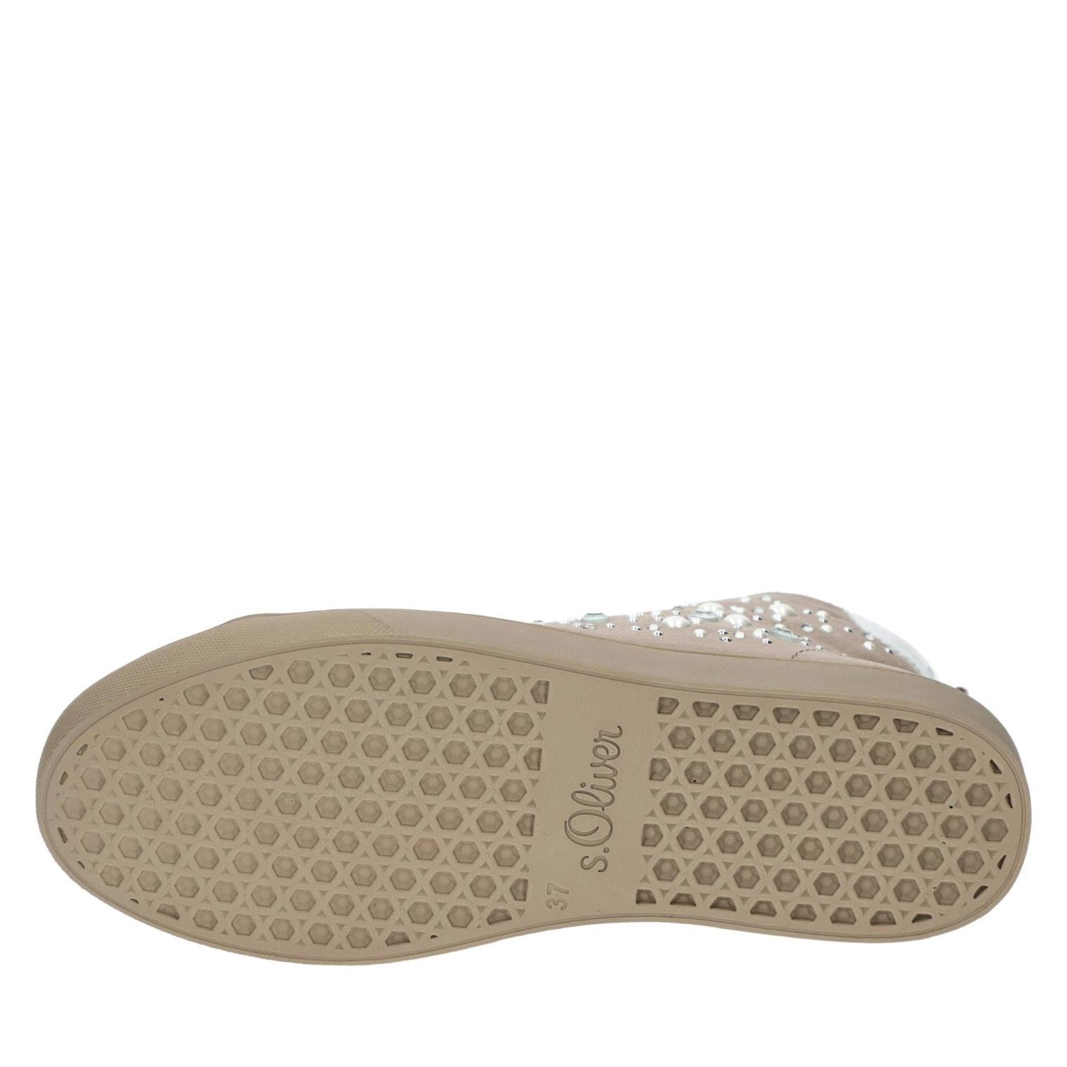 s.Oliver Sneaker taupe in Farbe taupe Sneaker günstig online kaufen 9b48ab
