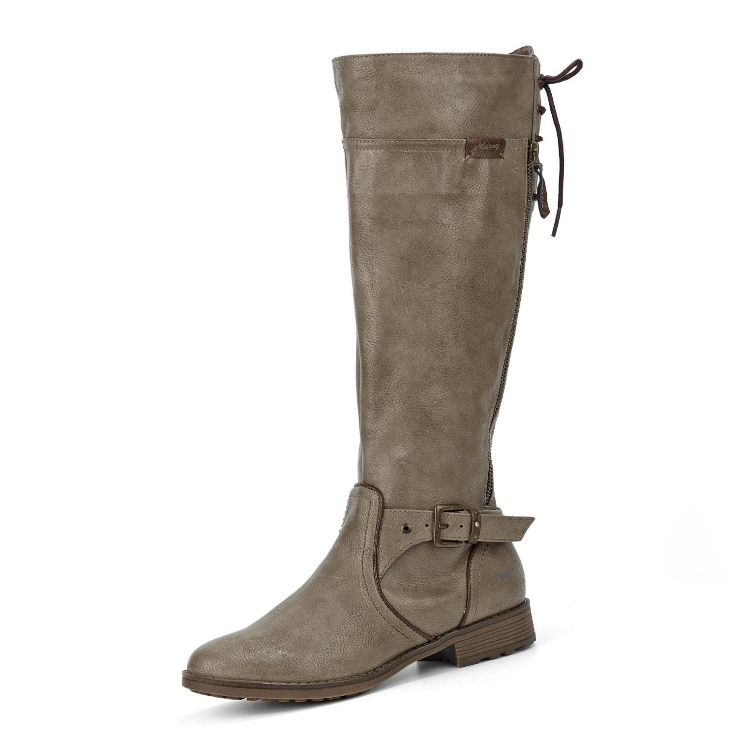 Mustang Stiefel in Farbe Farbe Farbe taupe günstig online kaufen 7c0ce6