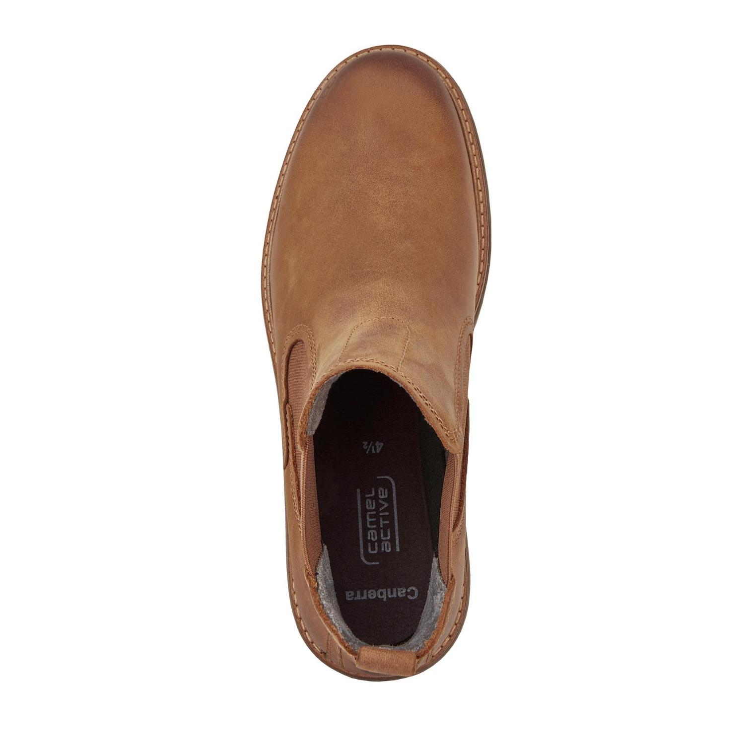 Camel Farbe Active Canberra Chelsea Boots in Farbe Camel cognac günstig online kaufen 31b370