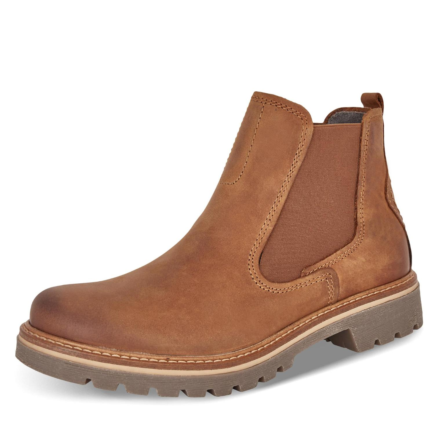 best service e5681 6bff6 Camel Farbe Active Canberra Chelsea Boots in Farbe Camel ...