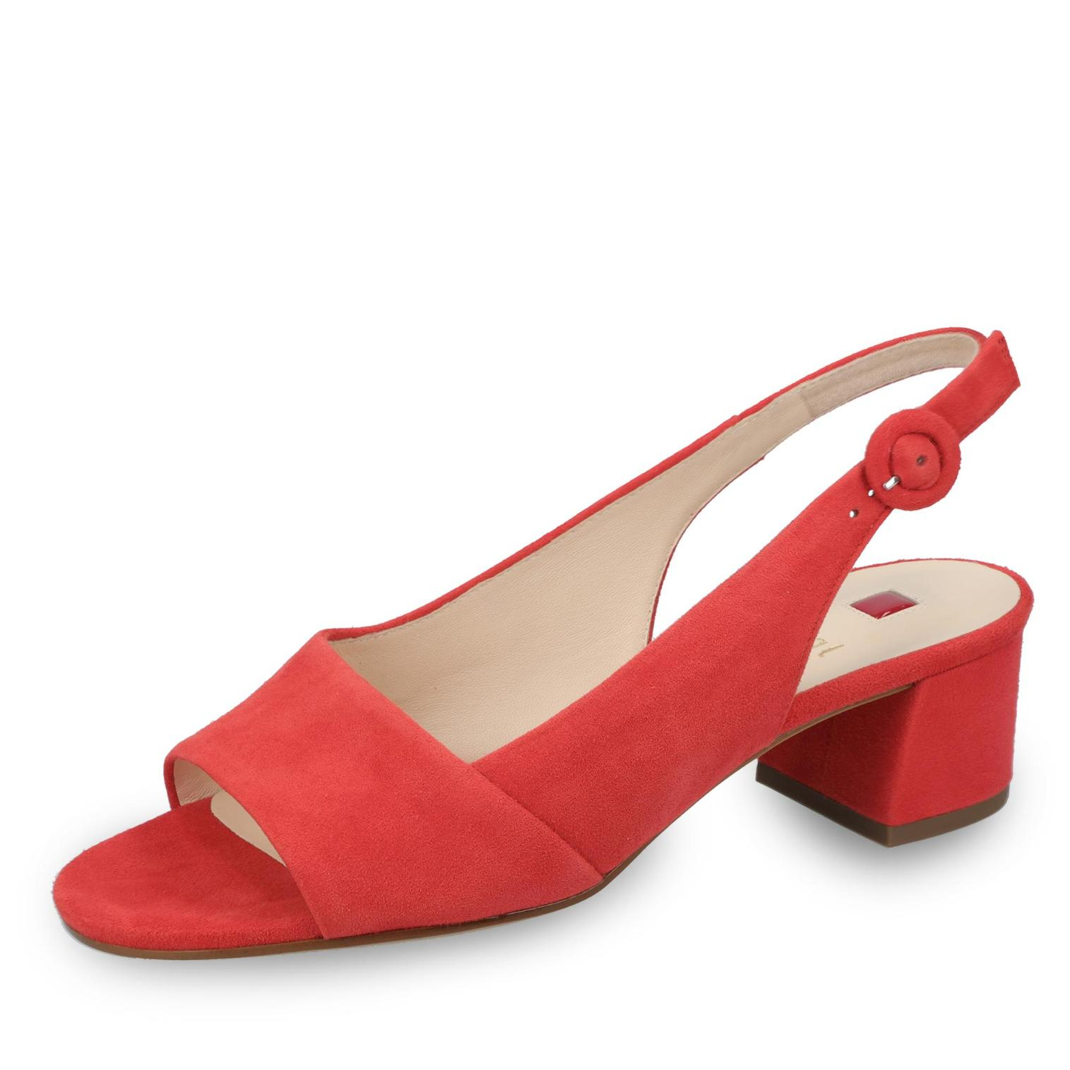 official photos 56c0a 915cd Högl Sandalette in Farbe rot um 34% reduziert online kaufen