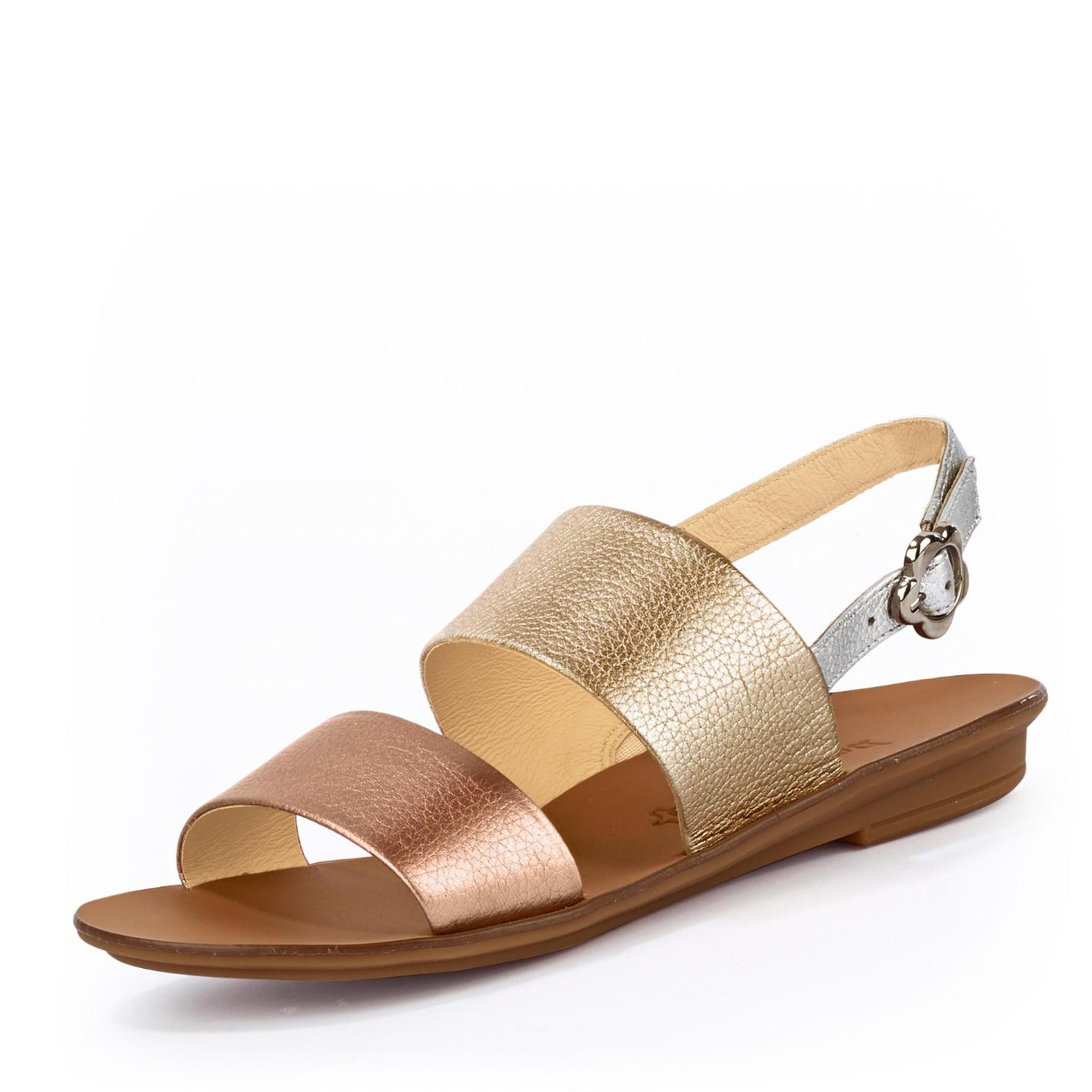 separation shoes 321ce f95a9 Paul Green Sandale in Farbe gold/bronze um 44% reduziert ...