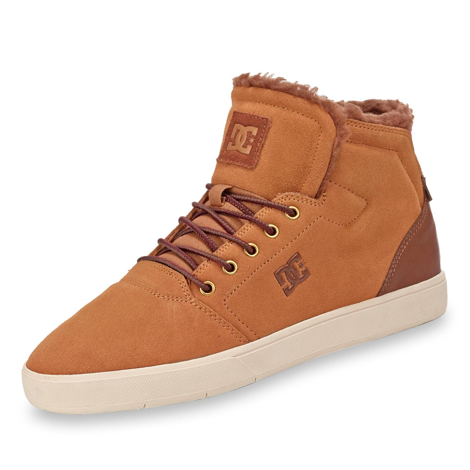 DC in Sneakerboots in DC Farbe honig accc23