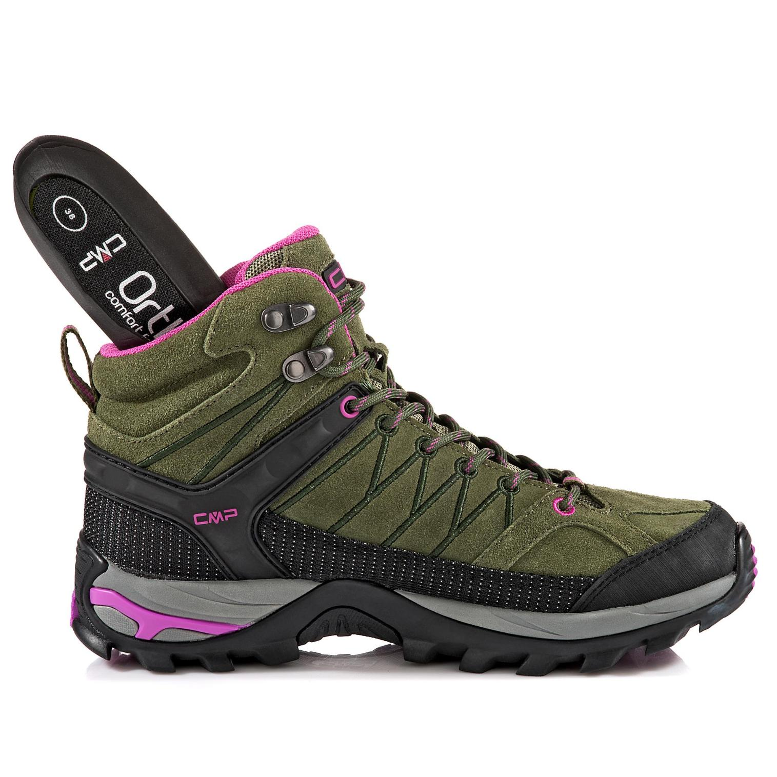 CMP Rigel Clima Protect online Wanderschuh in Farbe khaki/rosa günstig online Protect kaufen 7658aa