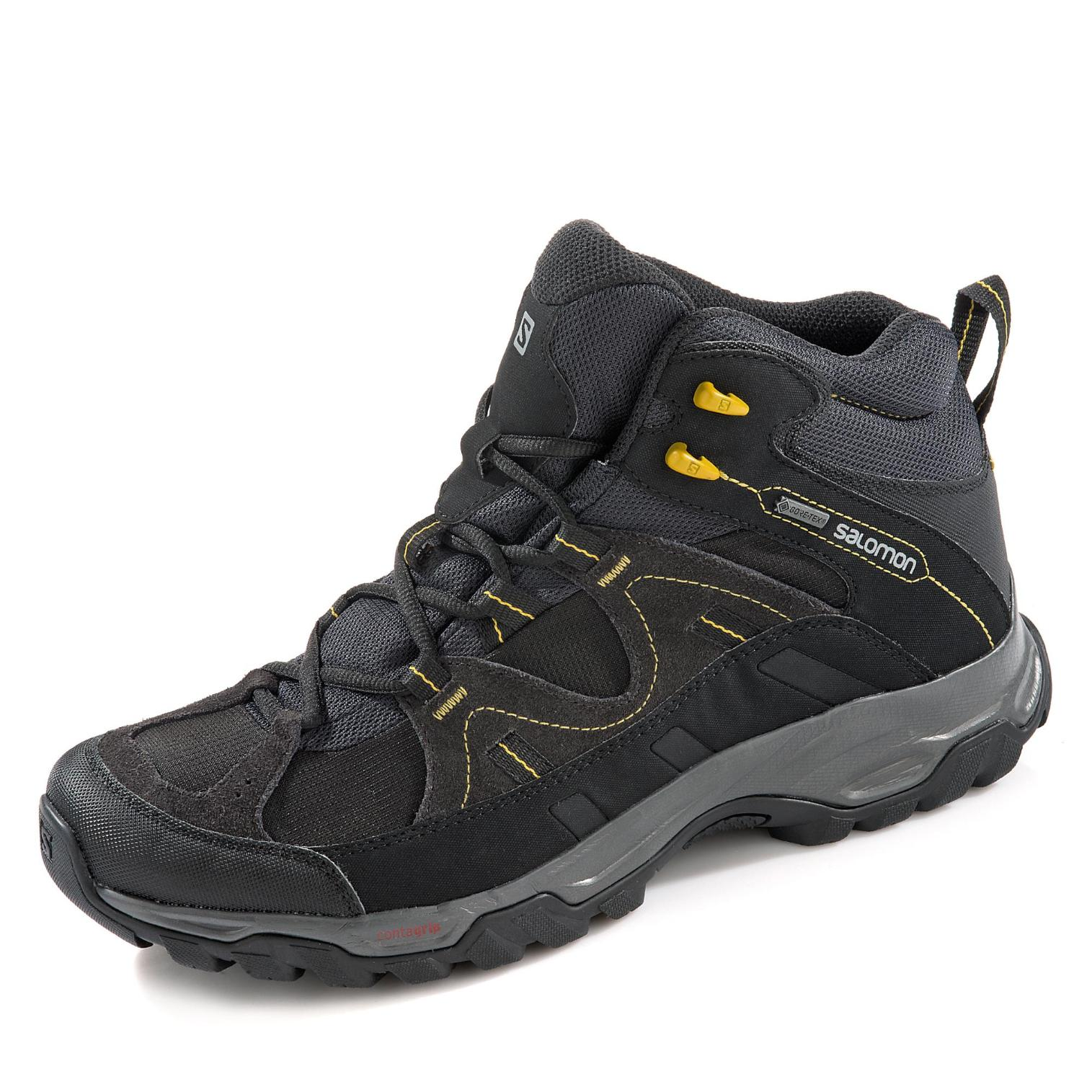 Salomon Meadow Mid GORE-TEX Outdoorschuh in Farbe schwarz