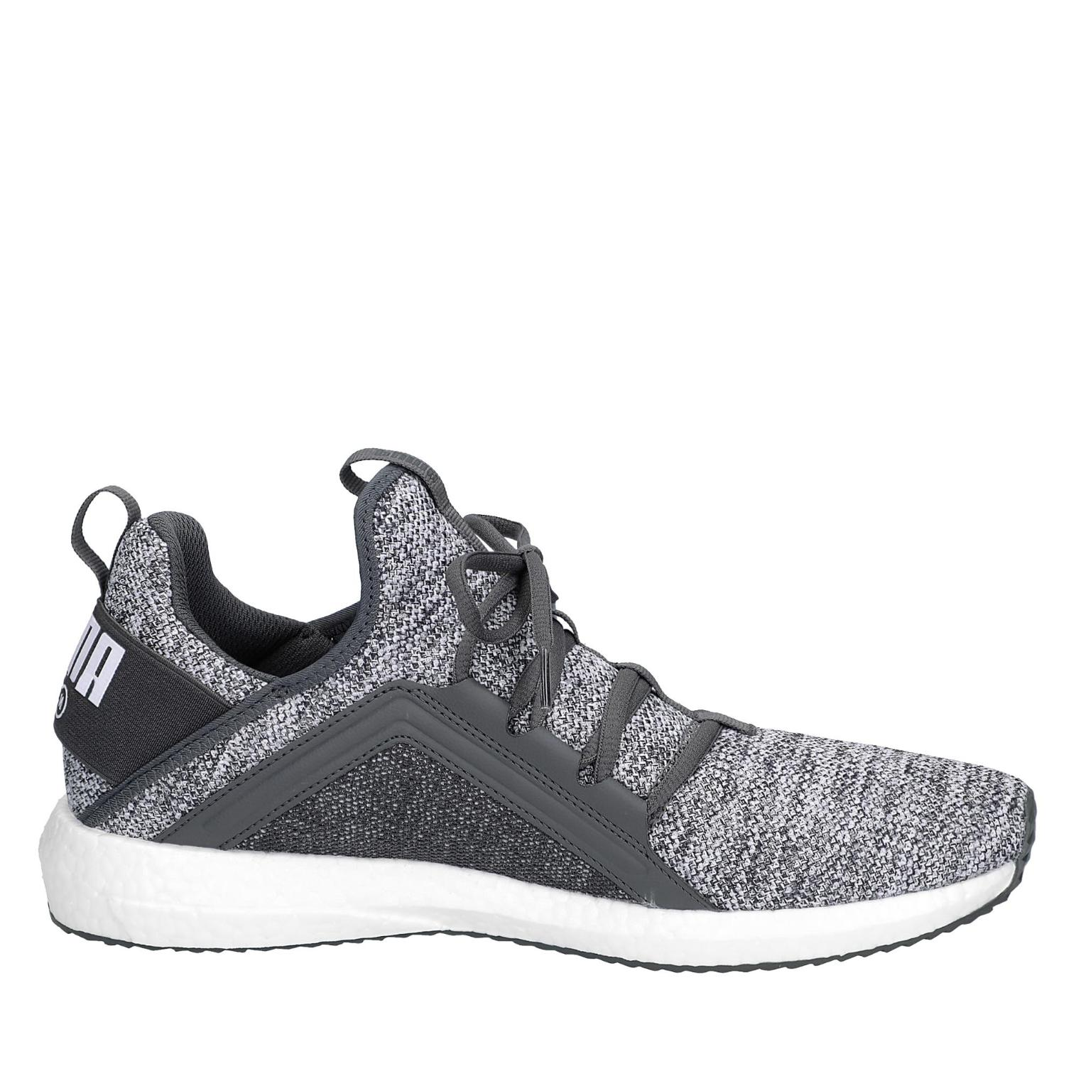 Puma Mega NRGY in Knit Sneaker in NRGY Farbe anthrazit/weiß ad811c