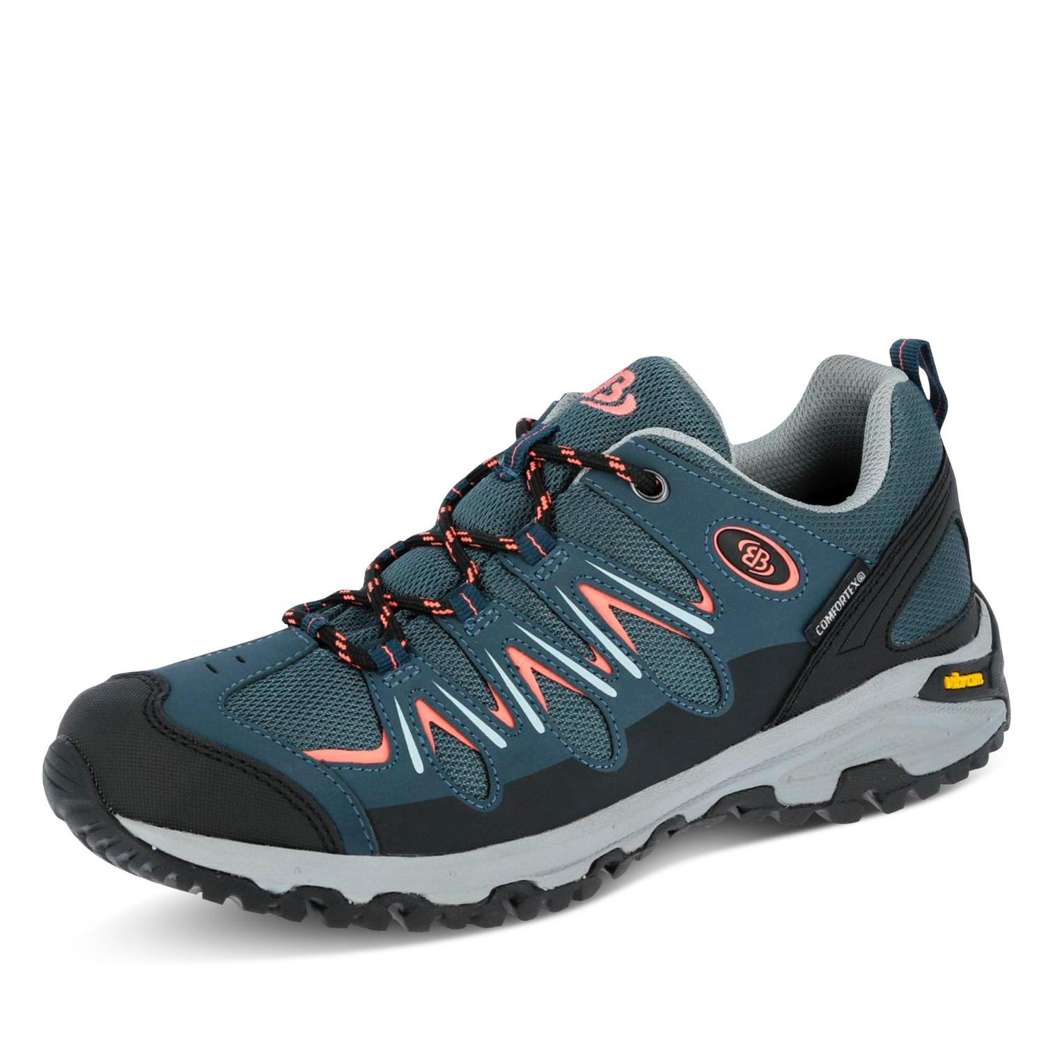 Brütting Expedition COMFORTEX Outdoorschuh in Farbe blau/rose günstig online kaufen
