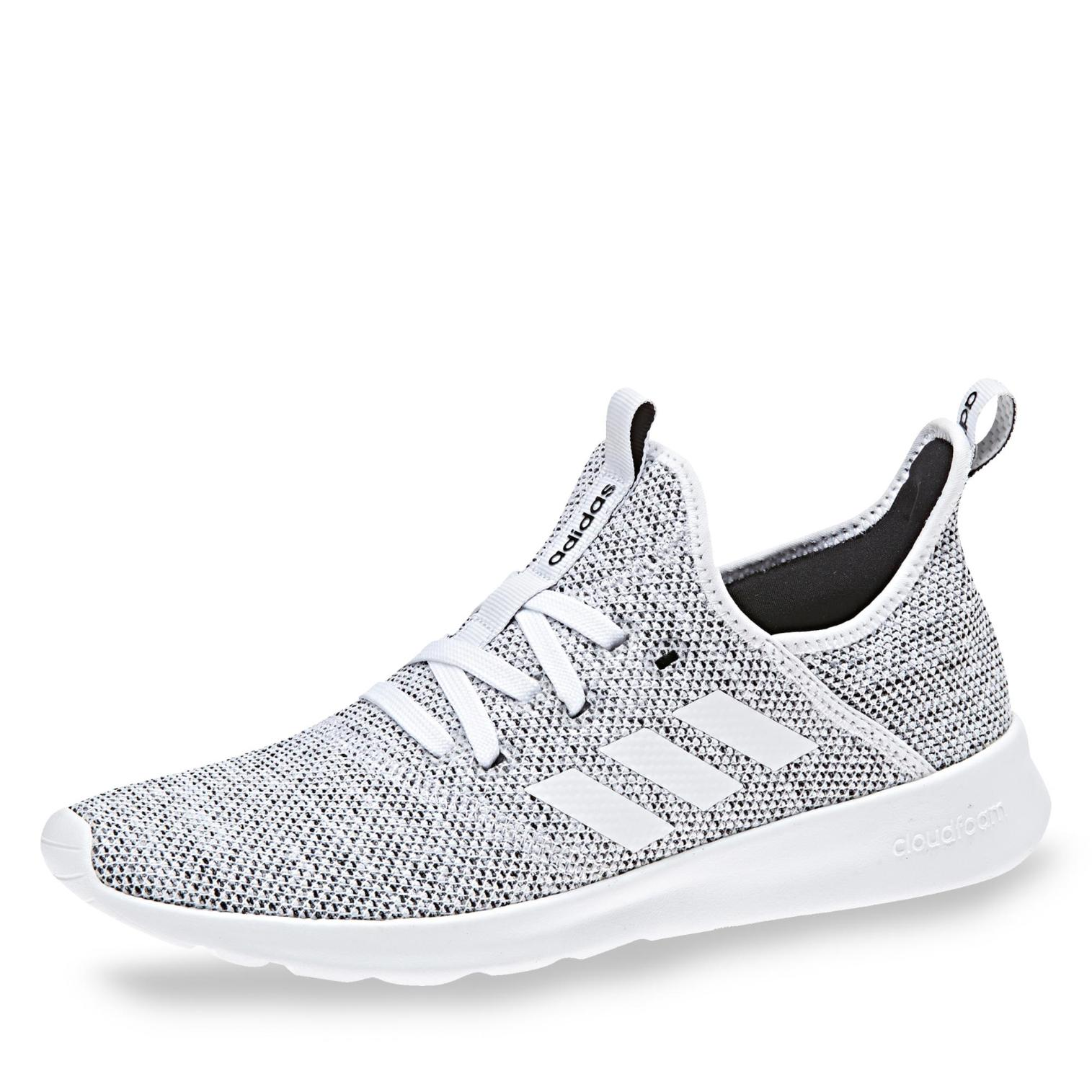 adidas cloudfoam Pure Sneaker in Farbe weiß meliert um 9 ...