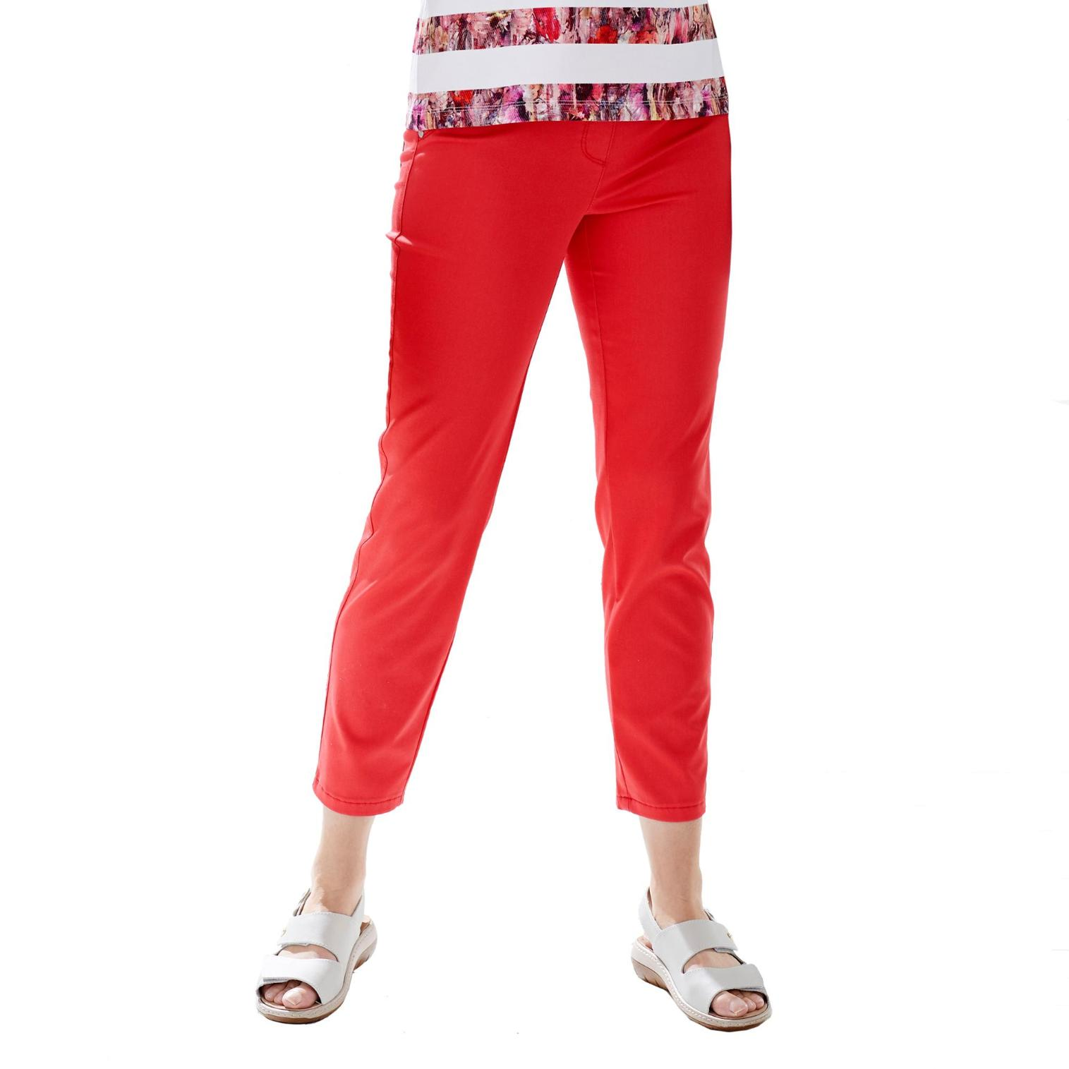 Relaxed by Toni My Darling 7/8-Jeans - Damen - rot in Größe 48