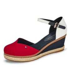 Tommy Hilfiger Basic Closed Toe Mid Wedge Pumps