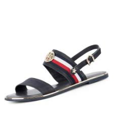 Tommy Hilfiger Corporate Ribbon Flat Sandale
