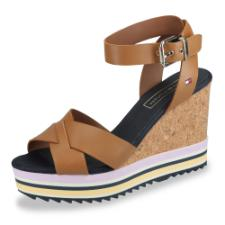 Tommy Hilfiger Colored Stripes Wedge Keilsandalette