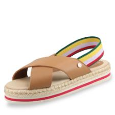 Tommy Hilfiger Colorful Rope Flat Sandale
